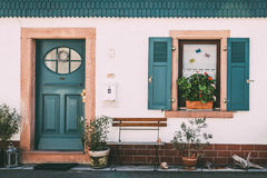 Dream House. Window from Hirschhorn, in Germany Stock Photography