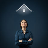 Dream about house stock images