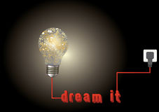 Dream it Stock Photography