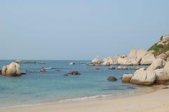 Dream island. A dream island in the sea Stock Photography