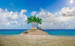 Dream Island. Royalty Free Stock Images