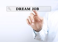 Dream job Royalty Free Stock Photography