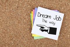 Dream Job Royalty Free Stock Image
