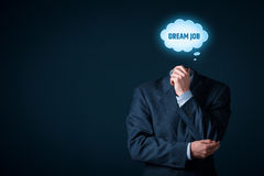 Dream job concept Stock Photography