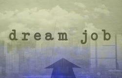Dream job concept Stock Photography