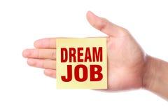 Dream job Stock Photography