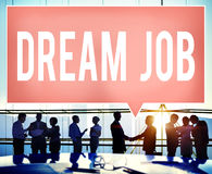 Dream Job Occupation Career Aspiration Concept Royalty Free Stock Photo
