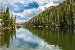 Dream Lake Colorado Stock Photo