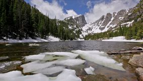 Dream Lake at the Rocky Mountain National Park, USA