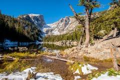 Dream Lake, Rocky Mountains, Colorado, USA. Stock Photo