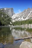 Dream Lake, Rocky Mountains Stock Images