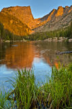 Dream Lake at Sunrise Royalty Free Stock Photography