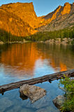 Dream Lake at Sunrise Royalty Free Stock Image