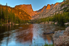 Dream Lake at Sunrise Royalty Free Stock Photos