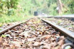 Dream land Hills. Beautiful railway in hill area Stock Image