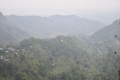 Dream land Hills. Mountain Road picture in Inidia Stock Photography