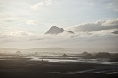 Dream-like beach in Iceland Royalty Free Stock Image