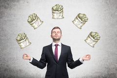 Dream about money Stock Images