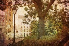 Dream of Montmartre Stock Photo