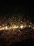 Dream night rain bright sparkle stock images