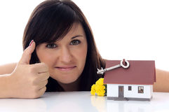 Dream of own house Royalty Free Stock Photography