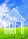 Dream of own house Royalty Free Stock Photo