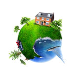 Dream planet Royalty Free Stock Photography