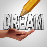 Dream Planning Royalty Free Stock Photo