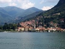 Dream properties in Como Italy Stock Image
