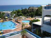 Dream resort crete Stock Photography