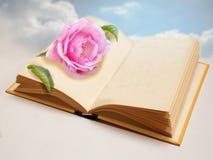 Dream romantic book Stock Image