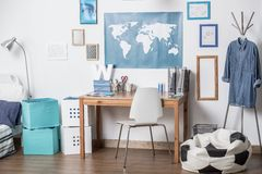 Dream room for boy Royalty Free Stock Image