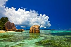 Dream seascape view Royalty Free Stock Photo
