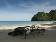 Dream secret beach and creel at Tarutao National Park, Thailand. Asia Royalty Free Stock Image