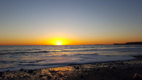 Dream of a sunset. Perfect sunset at the beach.  Laguna beach, California, USA Royalty Free Stock Photo