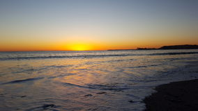 Dream of a sunset. Perfect sunset at the beach.  Laguna beach, California, USA Royalty Free Stock Photos