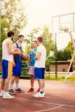 Dream Team Of Basketball Players stock photography