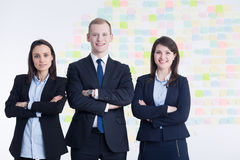 Dream team in business corporation Royalty Free Stock Photo
