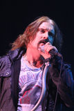 Dream Theater live, James LaBrie Stock Photography