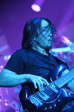 Dream Theater live, John Myung Stock Images
