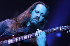 Dream Theater live, John Petrucci Stock Photography