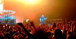 Dream Theater playing live Stock Photo