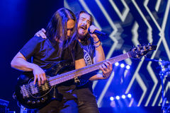 Dream Theater in Prague, 2015 Royalty Free Stock Images