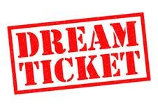 DREAM TICKET Stock Image