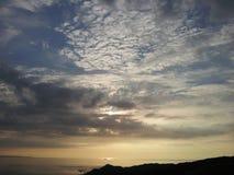 Dream Time. Morthoe Sunset, North Devon England Stock Photography