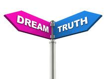 Dream or truth Stock Photography