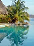 Dream vacation. Morning in tropical resort, Costa Rica Stock Image