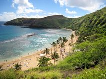 Dream vacation, Hawaii royalty free stock images