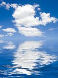 Dream View. Blue Sky And Water View Stock Photography