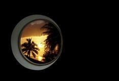 Dream window Royalty Free Stock Photography